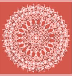 White texture oriental geometric ornament vector