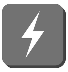 Electricity Rounded Square Icon vector