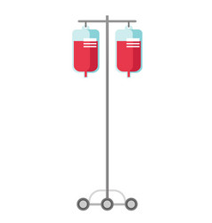 medical drop counter cartoon vector image