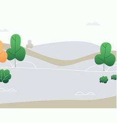 natural lanscape background vector image