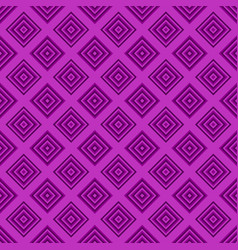 simple seamless pattern - square design background vector image