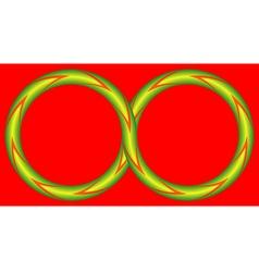 Infinite vector image vector image