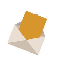envelope message web online communication vector image