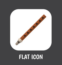 melody symbol on reed icon vector image