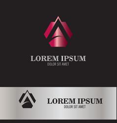 a symbol business logo vector image