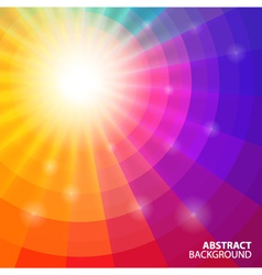 abstract circular background vector image