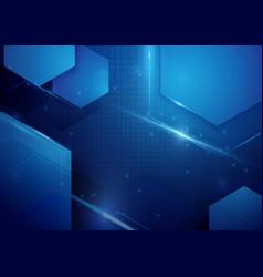 Abstract technology digital hi tech background vector