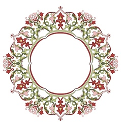 Antique ottoman turkish pattern design thirty five vector image