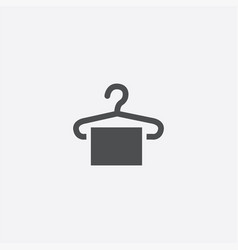 hanger icon vector image