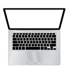 Laptop Computer PC with space for your message vector image