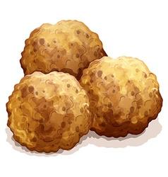 meatball vector image