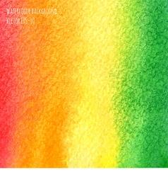 Pink orange green watercolor background vector