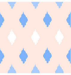 Seamless Diamond Shapes Pattern vector image