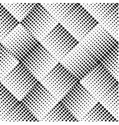 seamless halftone dots pattern vector image