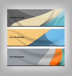 web banner header vector image