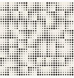stylish minimalistic halftone grid vector image