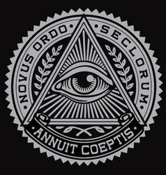 All Seeing Eye vector image vector image