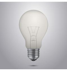 classic light bulb vector image