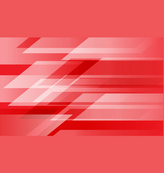 abstract red white geometric speed design vector image