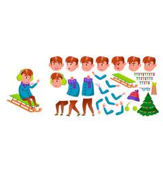 boy schoolboy primary school child vector image