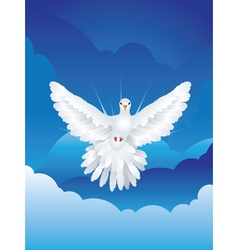 Dove in the Sky6 vector