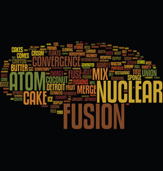 Fusion word cloud concept vector