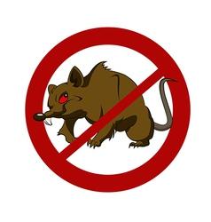 No big rat vector image