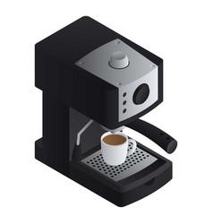 office coffee machine icon isometric style vector image