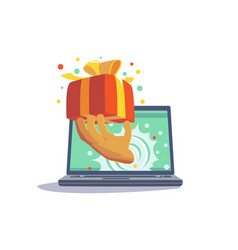 present from website vector image