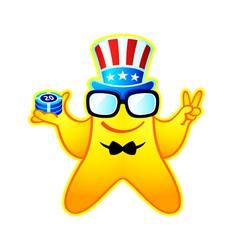 casino boss vector image vector image