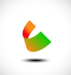 Letter C logo icon design template element vector image vector image