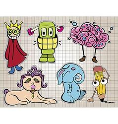 creatures1 380 vector image