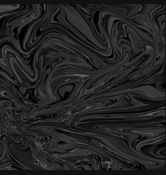 abstract black and white liquid background vector image
