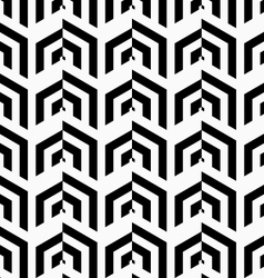 Black and white striped vertical rows vector