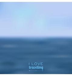 blurred landscape background vector image