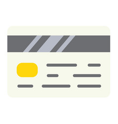 Credit card flat icon business and finance vector