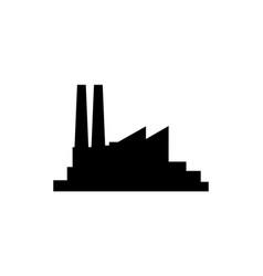 factory icon symbol simple design vector image