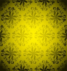 golden wallpaper repeat vector image