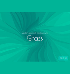 low poly green abstract background in form a vector image