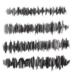 Sound waves set audio player audio vector