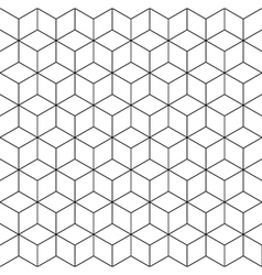 pattern cube 2 vector image vector image
