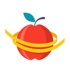Diet icon vector
