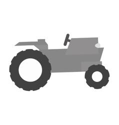 farm truck emblem icon image vector image vector image