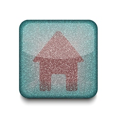 home house icon vector image vector image