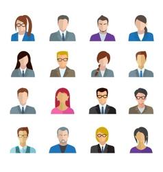 Office Worker Set vector image