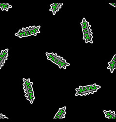 Cute punk collar flame background pattern vector