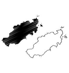 Eastern tobago region regional corporations and vector