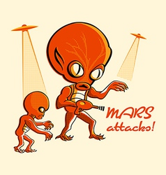 Mars attacks vector