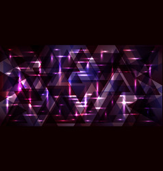 Pattern of metal in cosmic violet tones vector