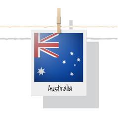 Photo of australia flag vector